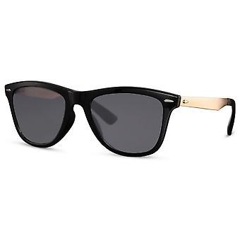 نظارات شمسية للجنسين القط البيضاوي. 3 أسود / ذهبي
