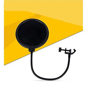 Durable Double Layer Windscreen Studio Microphone - And Pop Filter