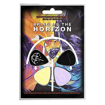 جلب لي الأفق Plectrum الغيتار حزمه اختيار x 5 الفرقة شعار sprirt الرسمية