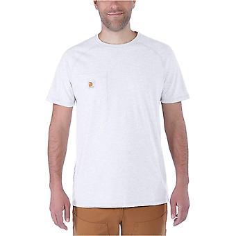 Carhartt Men's Force Cotton Delmont Tricou cu mânecă scurtă (Regulat și Big & T...
