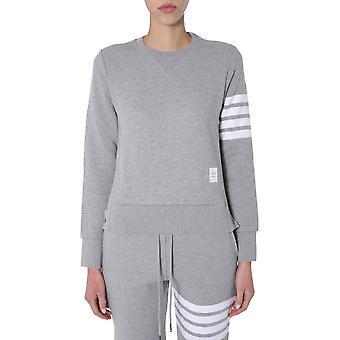 Thom Browne Fjt002a00535055 Mulheres's Grey Cotton Sweatshirt