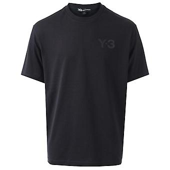 Y-3 men's black t-shirt