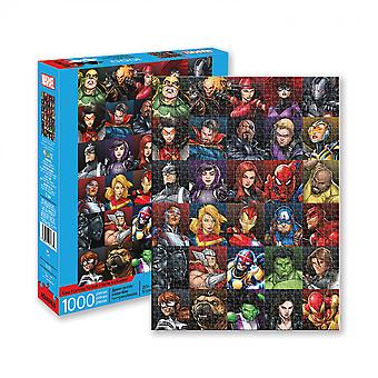 Marvel Heroes Collage 1000 Stück Puzzle