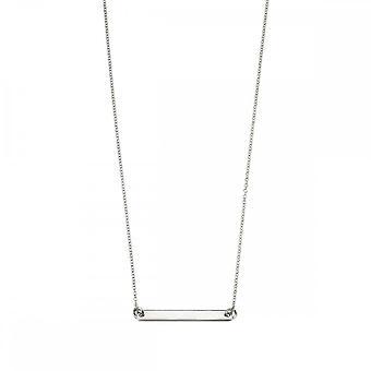 Beginnings Sterling Silver N4044 Id Bar 42+5cm Necklace