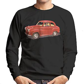 Austin A35 Red British Motor Heritage Men's Sweatshirt