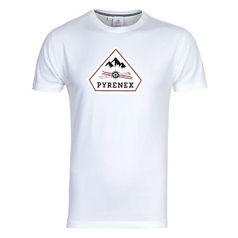 Pyrenex Karel Logo White Short Sleeve T-shirt