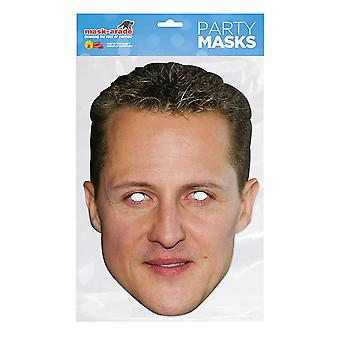 Mask-arade Michael Schumacher Party Mask