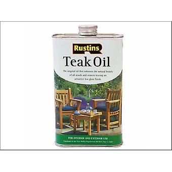 Rustins Teak Oil 250ml