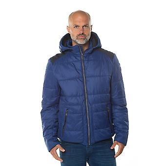 Wallace Padded Jacket in Cobalt