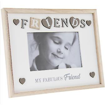 "Sentiments Frame Fabfriend 4X6"" Tekijä Lesser & Pavey"