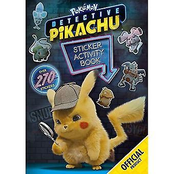 Detective Pikachu: Libro de actividad de pegatinas