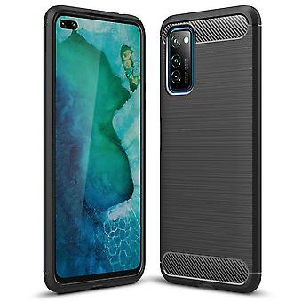 Soft Case for Huawei Honor V30 / View 30 باللون الأسود | عاده