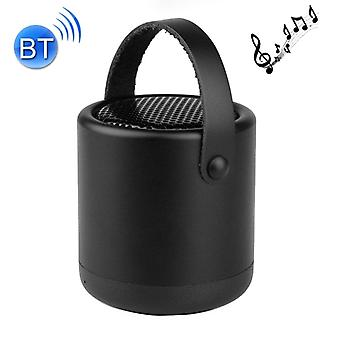 A056  Portable Outdoor Metal Bluetooth V4.1 Speaker with Mic, Support Hands-free & AUX Line In (Black)
