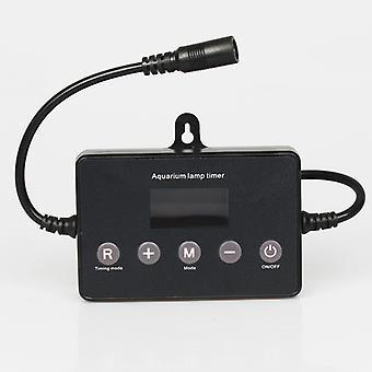 Acuario LED dimmer controlador Sunrise Sunset modulador para acuario tanque de peces Led sistema de atenuación de tiempo de luz inteligente