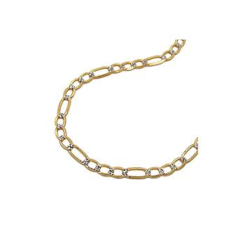 Collier Figaro Chain 45cm 14k Or