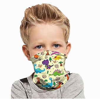 الأطفال طباعة في الهواء الطلق باندانا قناع الوجه للتزلج دراجة نارية خوذة غطاء الرقبة