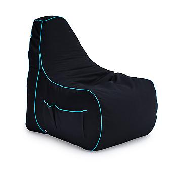 Lich Blade Loft 25� 'Game Over' Gaming High Back Chair Bean Bag with footstool