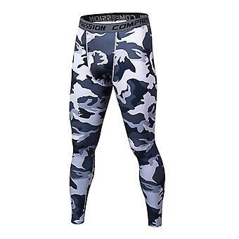 Mens Slim Skinny Casual Bodybuilding Fitness Exercise Pants