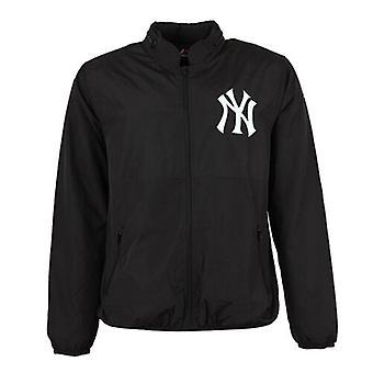 Majestic Portman Windrunner New York NY Jacket Mens Black A6NYY5505BLK001 A9D