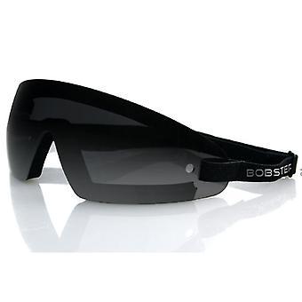 Balboa BW201 Wrap Around Black Frame Goggle - Smoked Lens