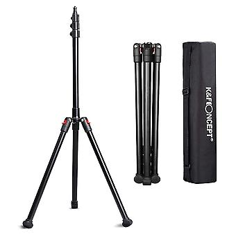 K&f concept heavy duty light stand, adjustable height 79''/2m 891g aluminum magnesium alloy with