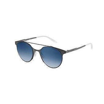 Carrera 115/S RFB/UY Matte Grey/Blue Gradient-Grey Sunglasses