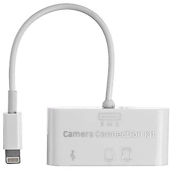 3-in-1 Card Reader Usb Camera Connection Hub