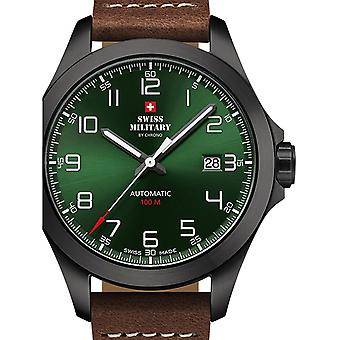 Mens Watch Swiss Military Door Chrono SMA34077.06, Automaat, 42mm, 10ATM
