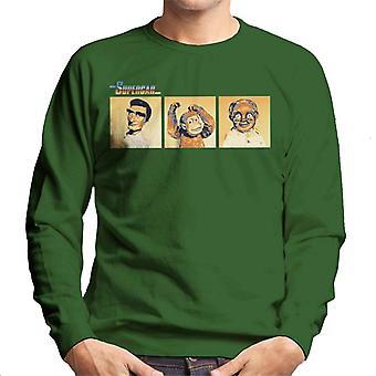 Supercar Mike Mitch And Professor Popkiss Men's Sweatshirt