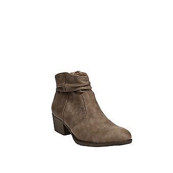 White Mountain | Uptown Block-Heel Ankle Booties