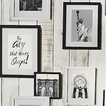 New York Photo Frame Wallpaper