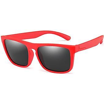 Spædbarn Uv400 Breakproof Kids Silica Soft polariserende firkantede briller