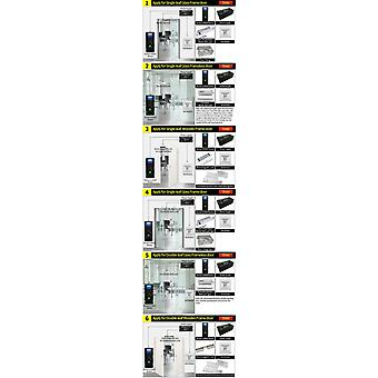 ZOKOTECH ZK-FP18 טביעת אצבע סיסמה מזהה מזהה כרטיס גישה בקרת מערכת זמן מכונת נוכחות עם 2.4
