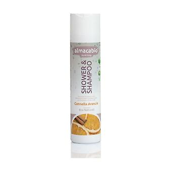 Shower & Shampoo With Cinnamon And Orange 250 ml