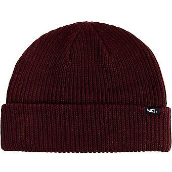 Vans Mens Core Maglia Invernale Caldo Berretto Cappello - Borgogna - Una Taglia