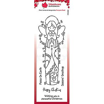 Woodware Clear Singles Patch Angel 8 x 2.6:ssa leimana