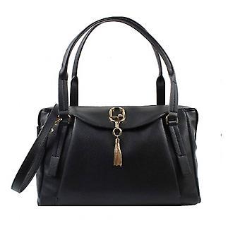 Women's Liu-jo A Shoulder Bag/ Pretty Shoulder Strap Satchel M Black Bs21lj33 Aa1042
