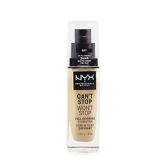 NYX Can't Stop Won't Stop Full Coverage Foundation - # Buff 30ml/1oz