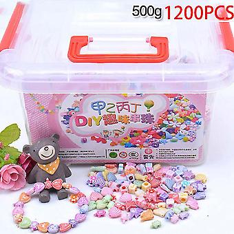 Diy Handmade Beaded Toy With Storage Box