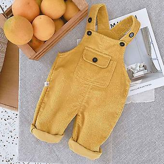 Baby Overalls Autumn Winter Corduroy Jumpsuit
