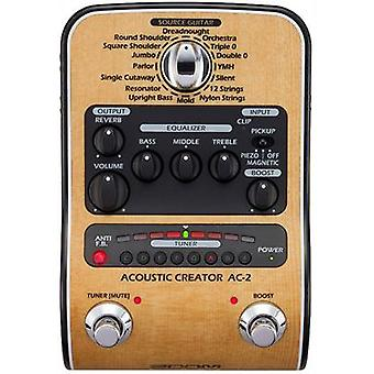 Zoom ac-2 acoustic creator guitar effect pedal