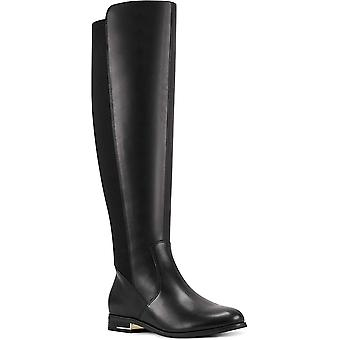 Nove West Women's Shoes Levi-WC Leather Closed Toe Knee High Fashion Boots