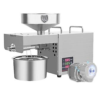 Automatic Household Oil Press Intelligent Temperature Control Stainless Steel