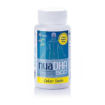 Nua DHA 500 Limon 30 Capsules