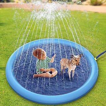 Gyermek szórakoztató medencék kültéri vízpermet párna