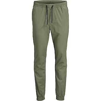 Jack & Jones Mens JJI Garden Trousers Drawstring Track Bottoms Pants Activewear