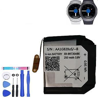 S2 Classic Sm-r720 R720 R732 Smart Watch 250Mah alkuperäinen vaihtoakku