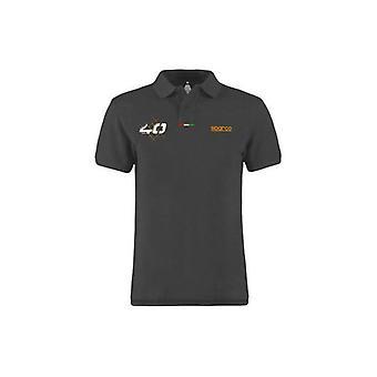 Men�s Short Sleeve Polo Shirt Sparco/XL