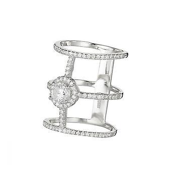 Ring 'Trio Enchanted Garden' Silver 925