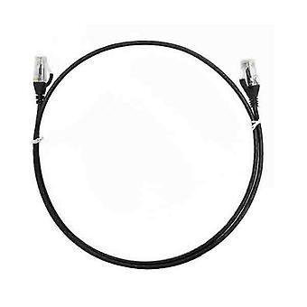 8Ware Cat6 Ultra Thin Slim Cable 15M Black